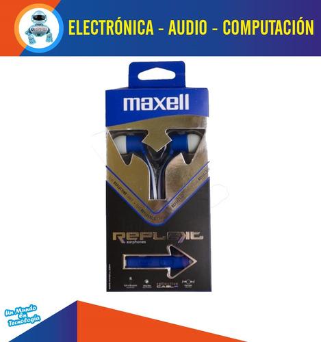 audifonos estereo in ear deportivos ultra reflectivos maxell