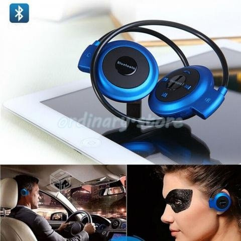 audifonos flexibles bluetooth deportivos stereo hd mini 503