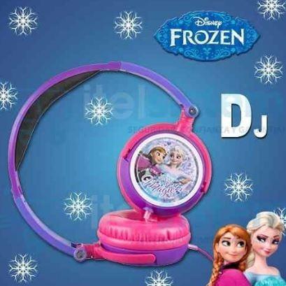 audifonos frozen -  dj disney - nuevo