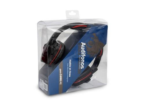 audifonos gamer diadema pc microfono eagle warrior hs-501+