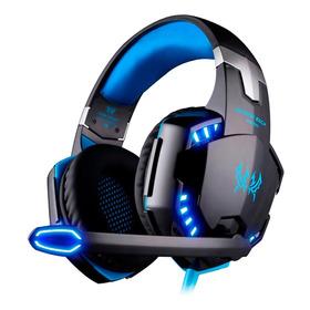 Audifonos Gamer G2000 Profesional 3d Sound Hq Mic Led Pc Mac