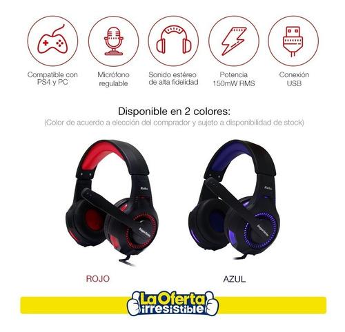 audifonos gamer kolke spartan para pc ps4  loi chile