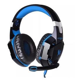 Audífonos Gamer Kotion G2000 Negro Y Azul