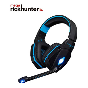 Audifonos Gamer Kotion G4000 Azul Megarickhunter