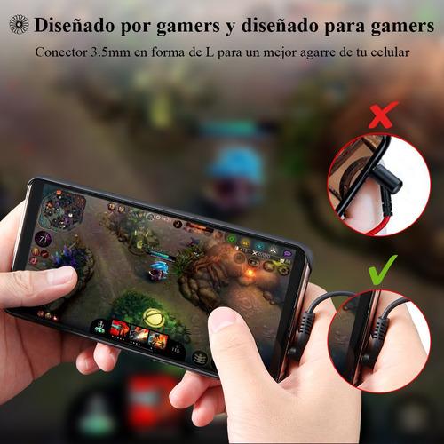 audífonos gamer langsdom g200x in-ear auriculares gaming ma