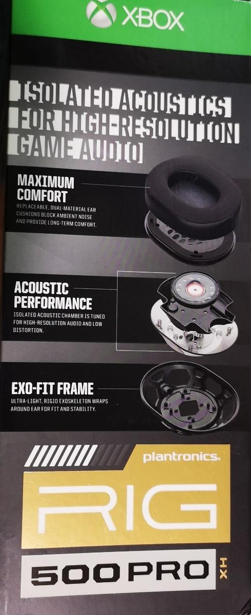 Audifonos Gamer Plantronics Rig 500 Pro Hx Xbox One