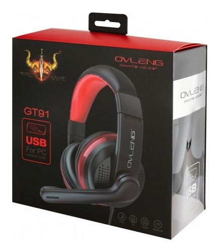 audifonos gamer usb pc notebook ps3 ps4 c/ microfono + envio