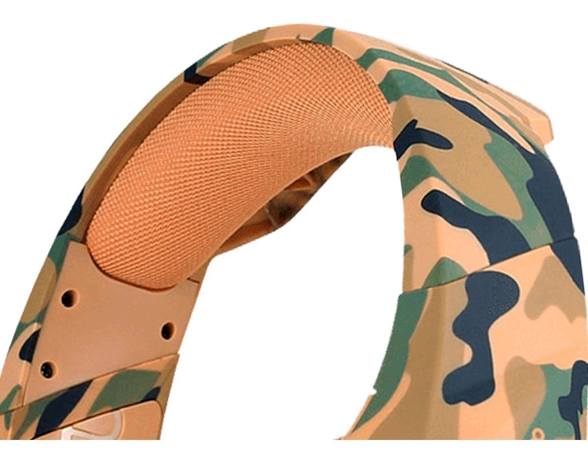 Diadema Headset Yeyian YDF-33401D Force, military desierto, serie 3000, gamer led, usb 3.5, c/mic