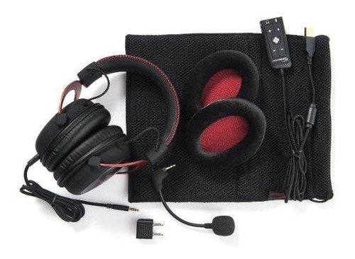 audifonos gaming hyperx cloud ii rojo