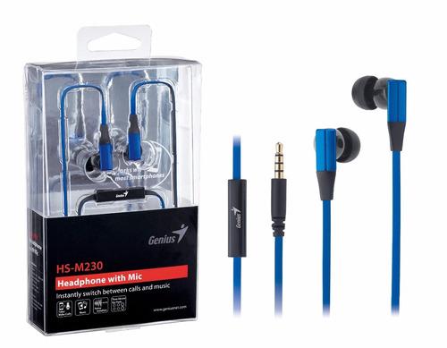 audifonos genius hs-m230 con microfono, compatible moviles