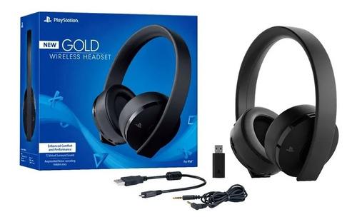 audifonos gold wireless headset playstation inalámbrico - ne