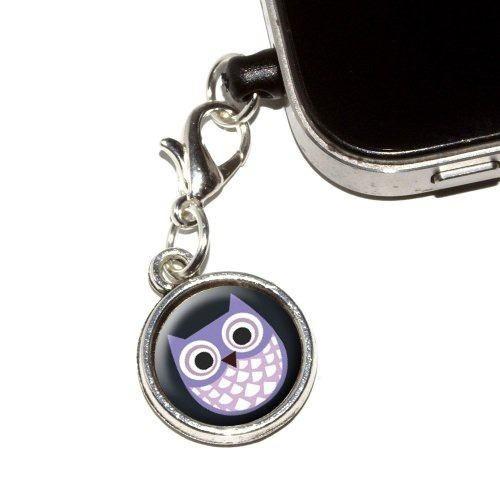 audifonos graphics cute owl anti dust plug fit
