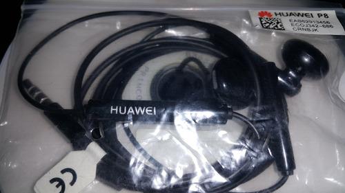 audifonos handsfree huawei originales. modelo .p9: p10