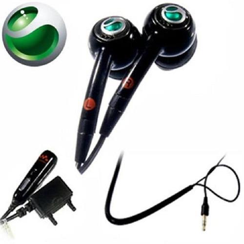 audífonos  handsfree sony ericsson. hpm-70. negro.