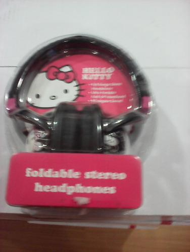 audifonos hello kitty!!!!!
