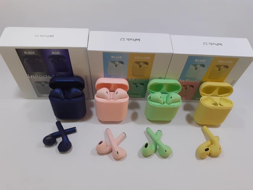 audifonos i12s mini tws inalambricos bluetooth tipo airpod