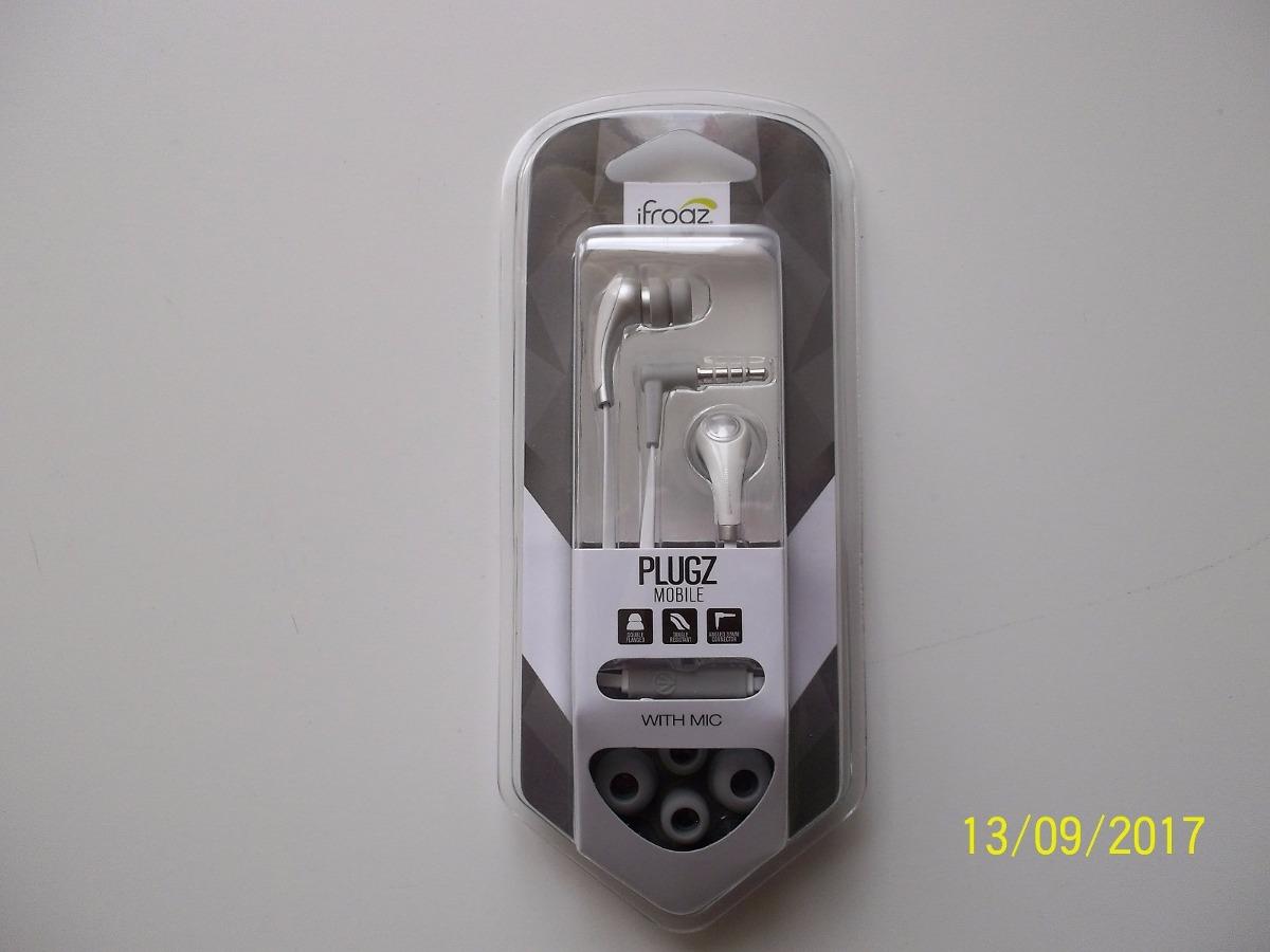 1ddbdbc91f1 Audifonos Ifrogz Plugz Color Blanco Ifpzmb-who - $ 50.000 en Mercado ...