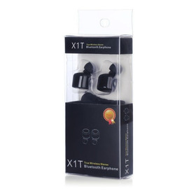 Audifonos In Ear Bluetooth Csr 4.0 Earbuds Negros