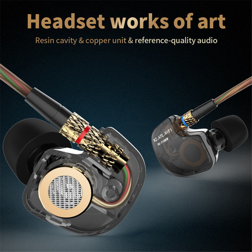 audifonos in ear kz ate-atr hifi extra bass originales