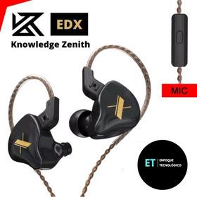 Audífonos In Ear Kz Edx Monitores Hifi Original Nuevo Modelo