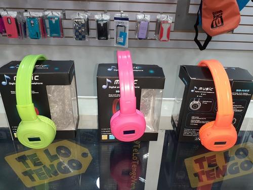 audífonos inalámbrico bluetooth-sd-fm precio de oferta