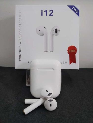audífonos inalámbrico i12 tws i9 airpods bluetooth (20verds)