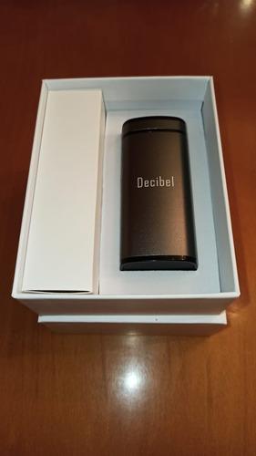 audífonos inalámbricos bluetooth 5, decibel c1 caja compacta