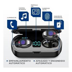 Audífonos Inalámbricos Bluetooth 5,0 Con Banco De Energía