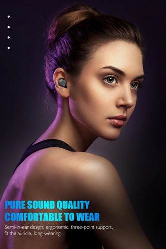 audífonos  inalambricos bluetooth 5.0 , impermeable