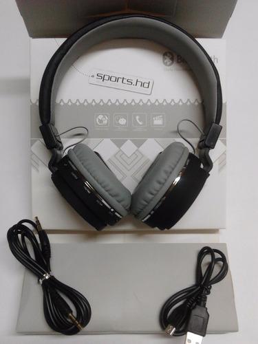 audífonos inalambricos bluetooth hd fm micro sd