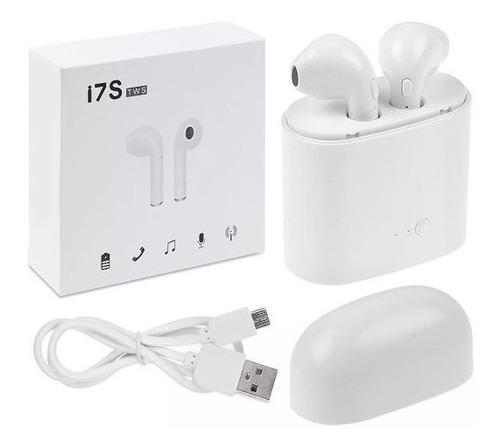 audifonos inalambricos bluetooth i7s tws blanco envío gratis