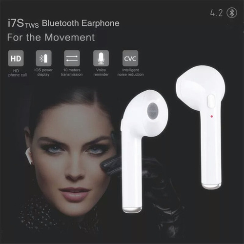 audifonos inalambricos bluetooth i7s tws!!! de oferta !!!