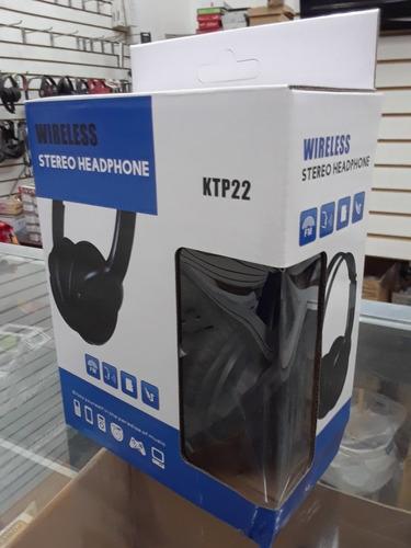 audifonos inalambricos bluetooth manoslibres ranura micro sd
