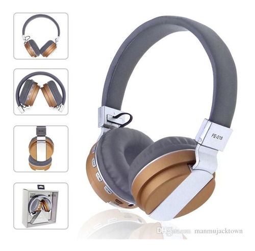 audifonos inalambricos bluetooth mp3 recargables livianos