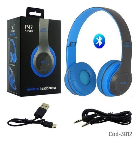 audifonos inalambricos bluetooth wireless manoslibres fm aux