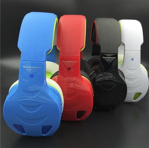 audífonos inalámbricos bluetooth/sd/fm stn-08