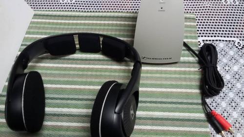 audifonos inalambricos c base de carga sennheiser tr 120