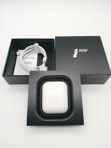 audífonos inalambricos i100 tws | carga inalambrica y tactil