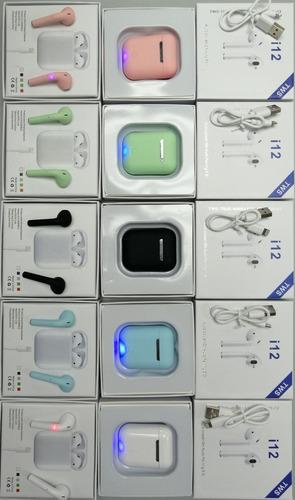 audífonos inalámbricos i12 tws airpods bluetooth (17us)