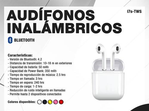 audifonos inalambricos i7s-tws iphone android bluetooth