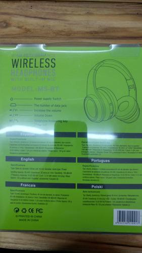 audifonos inalambricos jbl de estudio ms-992c