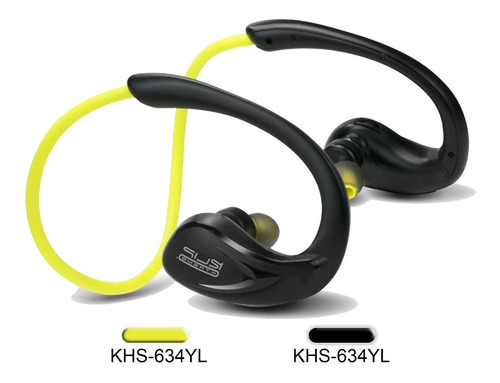 audífonos inalámbricos khs-634 klip xtreme, deportivos