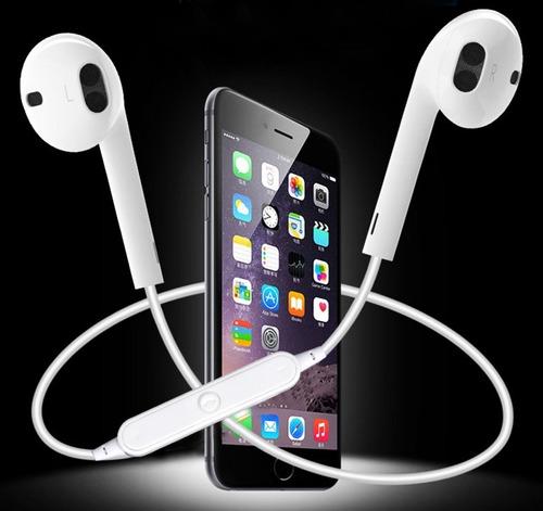 audifonos inalambricos manos libres bluetooth 4.1 blancos
