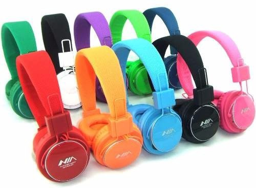 audífonos inalambricos nia bluetooth mp3 radio fm sd