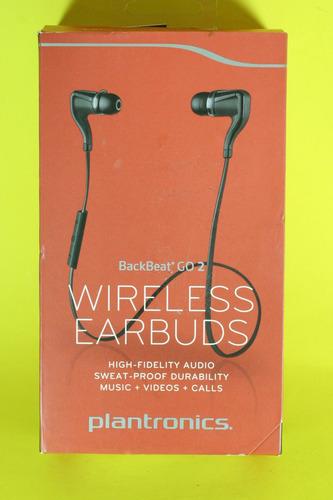 audifonos inalambricos plantronics backbeat go 2 bluetooth