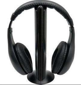 Audífonos Inalámbricos Rf Master Con Base Ms-hdwireless
