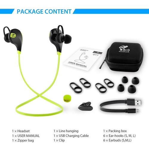 audífonos inalámbricos soundpeats. nuevo. r y m