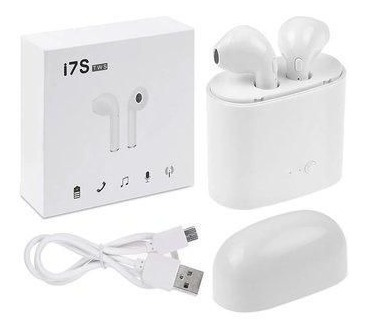40d945986f2 Audifonos Inalambricos Tipo Earpods I7s Tws iPhone O Android ...