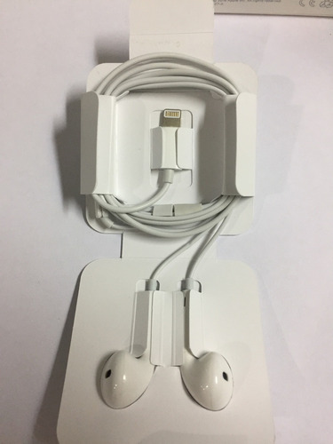 audifonos iphone 7 7 plus 8 8 plus x earpod lightning origin