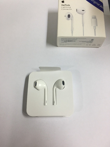 audifonos iphone 7 7 plus earpods with lightning connector